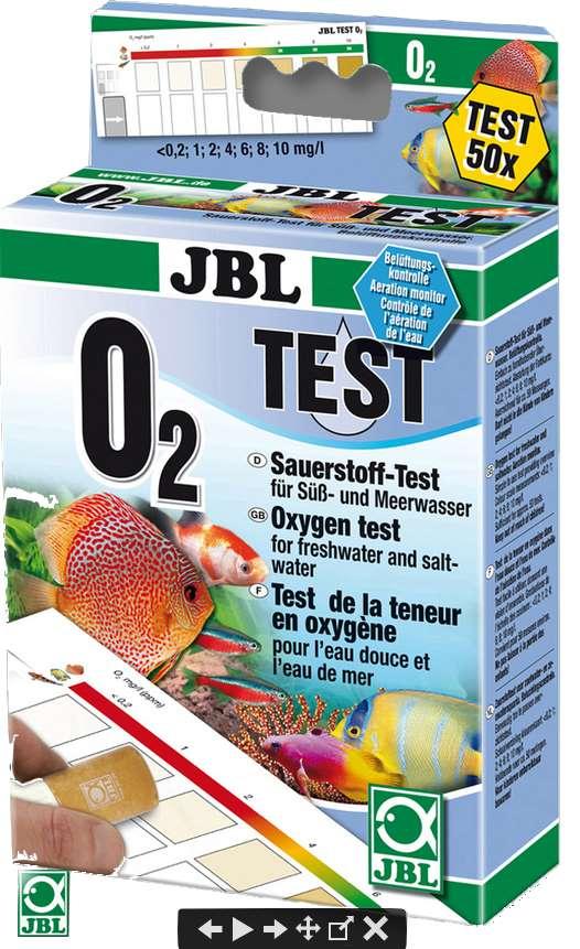 JBL O2 Sauerstoff Wassertest