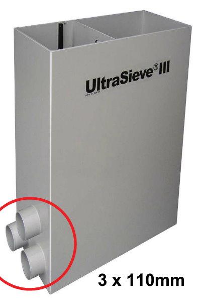 Aquaforte - UltraSieve III 300 µm 3 EINGÄNGE