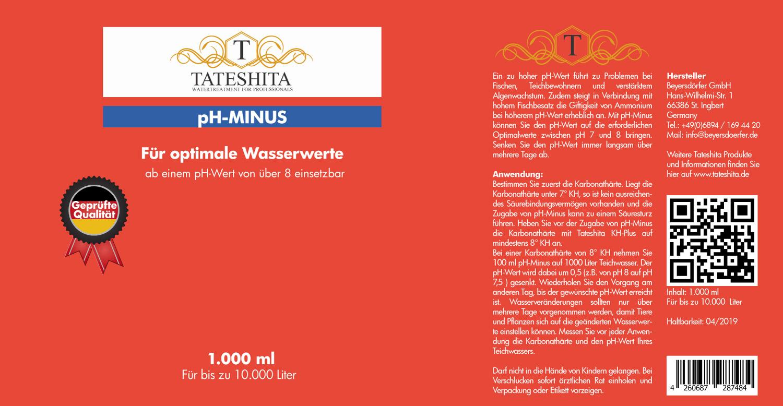 Tateshita pH-Minus 5l
