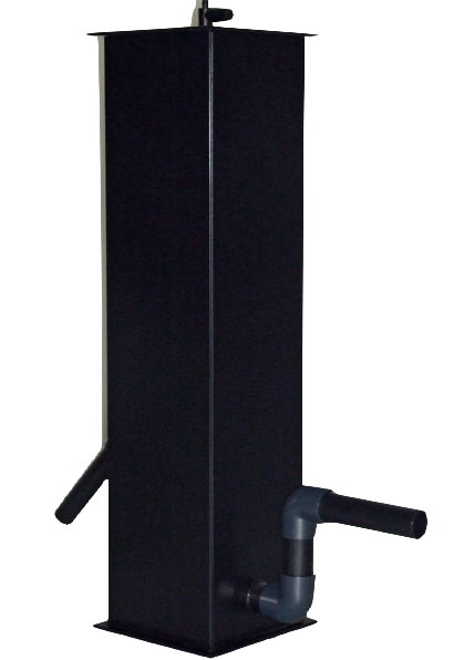 Unique Koi Eiweissabschäumer schwarz