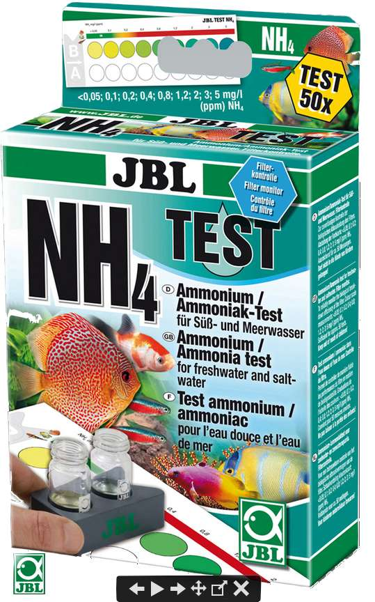 JBL NH4 Ammonium Wassertest