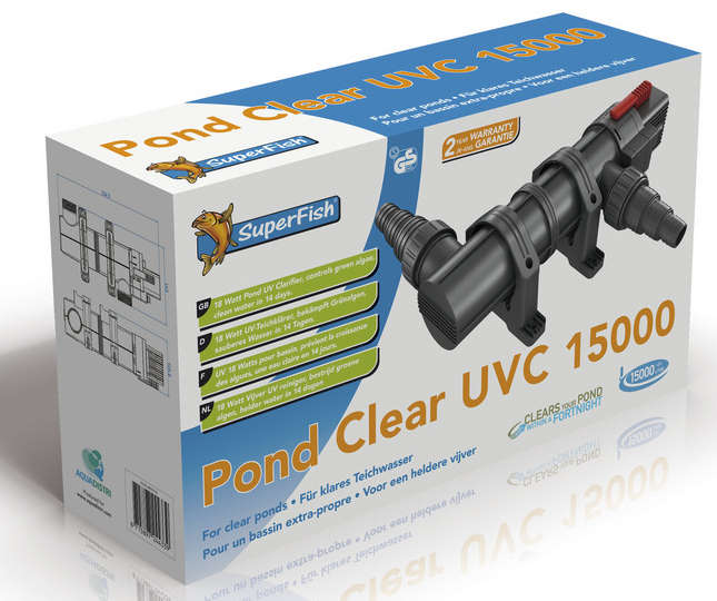 Superfish Pond Clear UVC 18 Watt