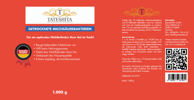 Tateshita getrockenete Milchsäurebakterien 1kg