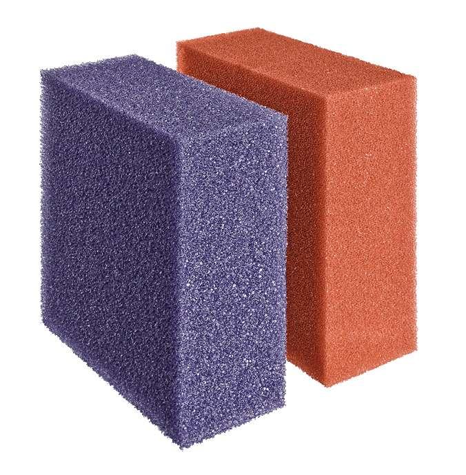 Filterschaumset rot/violett für Biotec 12 + Screenmatic² 40000