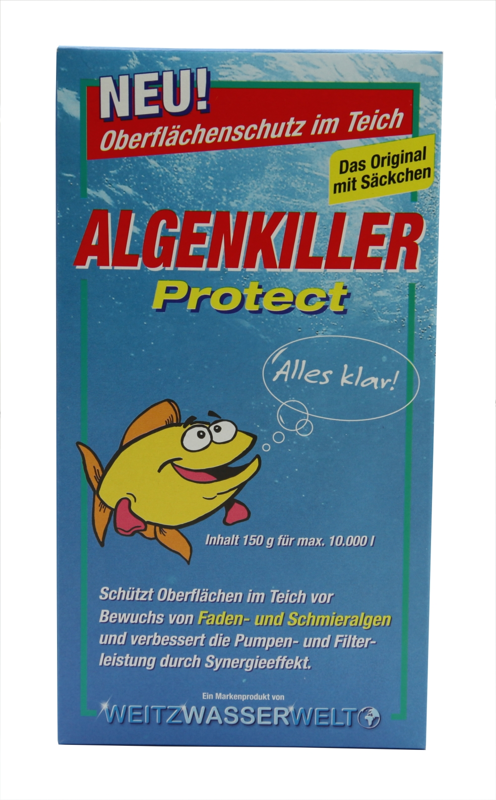 Unipond Algenkiller Protect 150 g - Algenvernichter