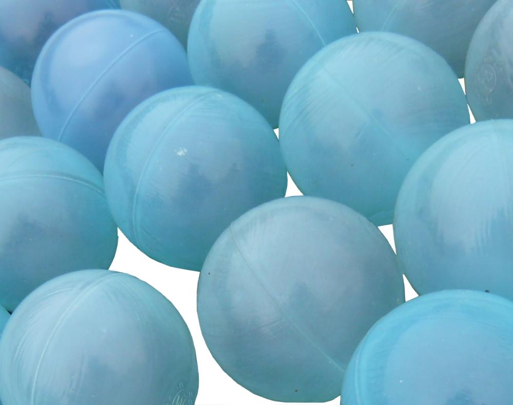 PE Bälle Teichabdeckung blau/transparent 1000 St. für 3,33 m² inkl. Netz