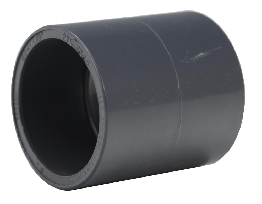 pvc muffe 110 mm g nstig kaufen auf teichzubeh r teichbau filterbau. Black Bedroom Furniture Sets. Home Design Ideas