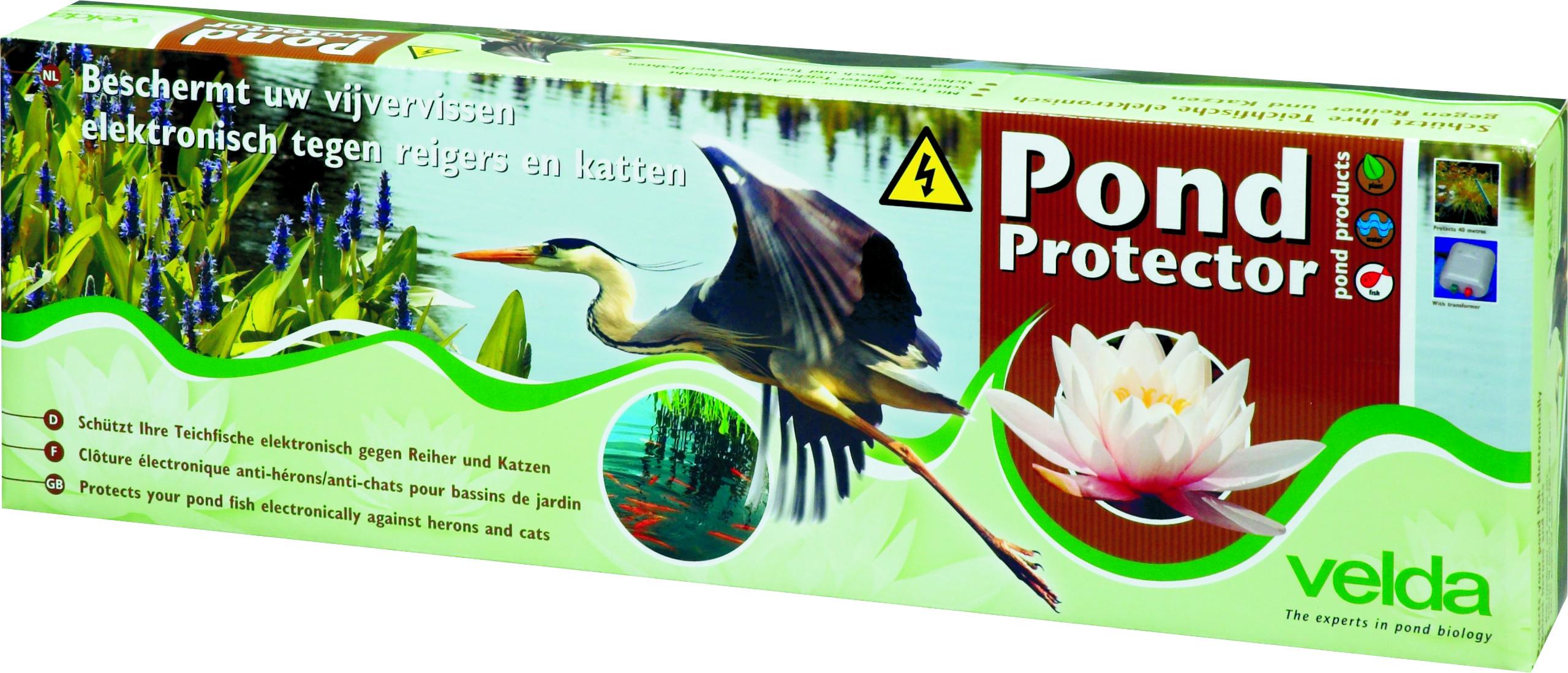 Pond Protector Velda elektronische Teicheinzäunung Reiherschreck Katzenschreck