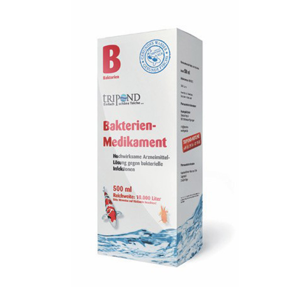 Tripond Bakterien-Medikament 500 ml