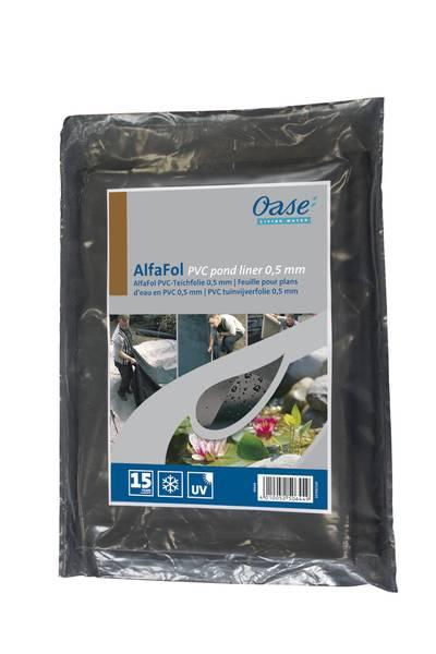 Oase Alfafol PVC Teichfolie schwarz 0,5mm / 6x6m