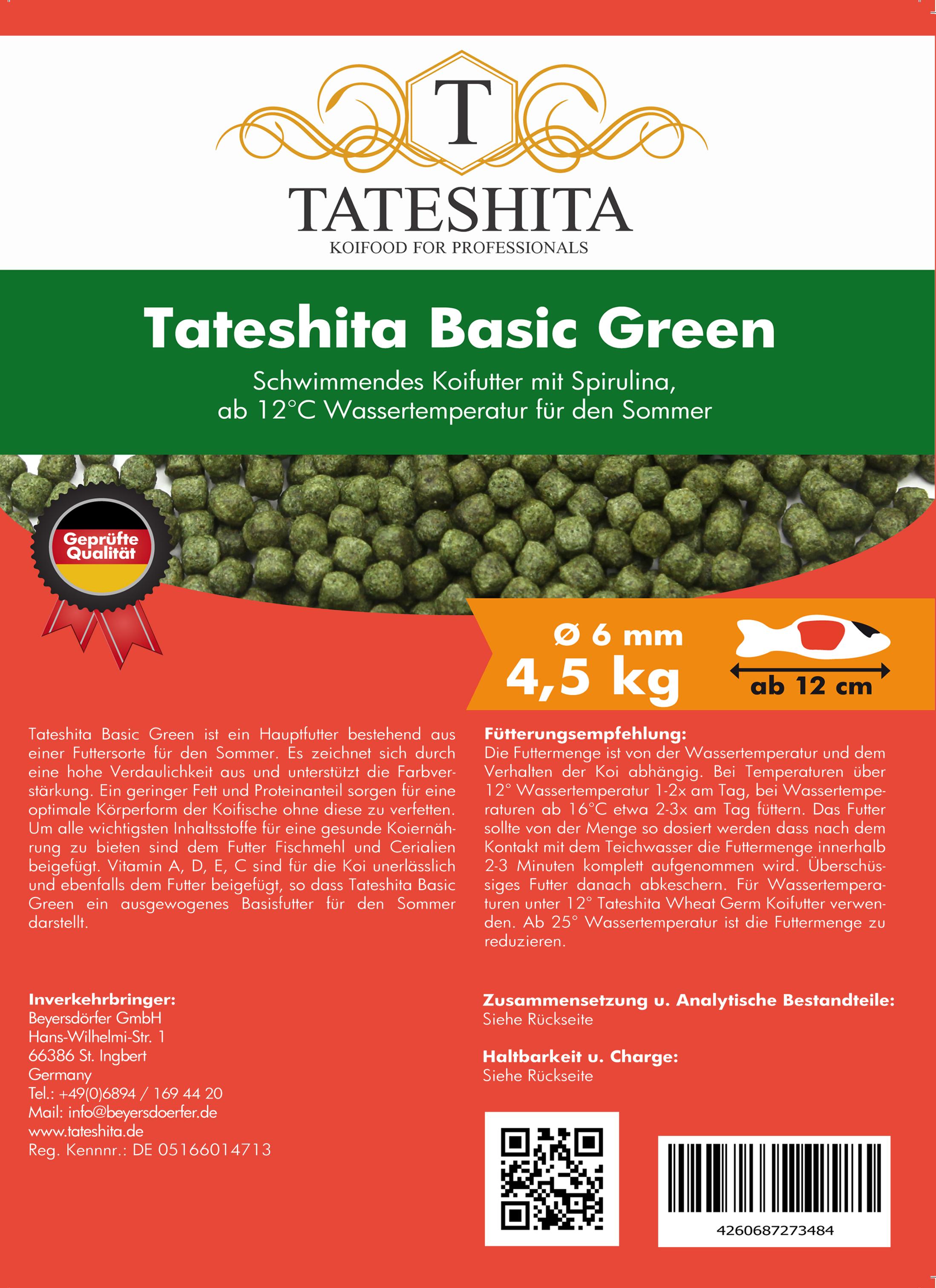 Tateshita Basic Green 4,5 Kg 6 mm