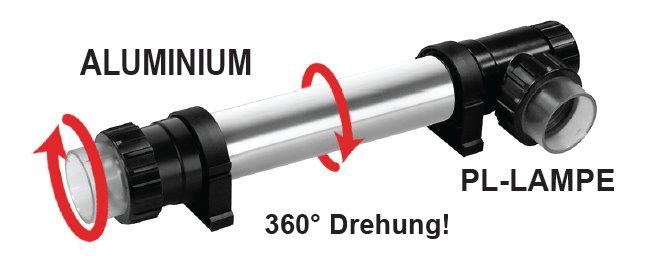 Xclear Ultraflex UVC 18 Watt - UVC Klärer