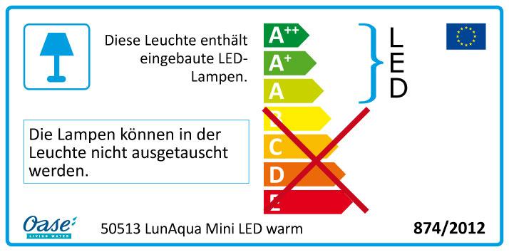 Oase Lunaqua Mini Led Warmwei 223 Kaufen Auf Kois De