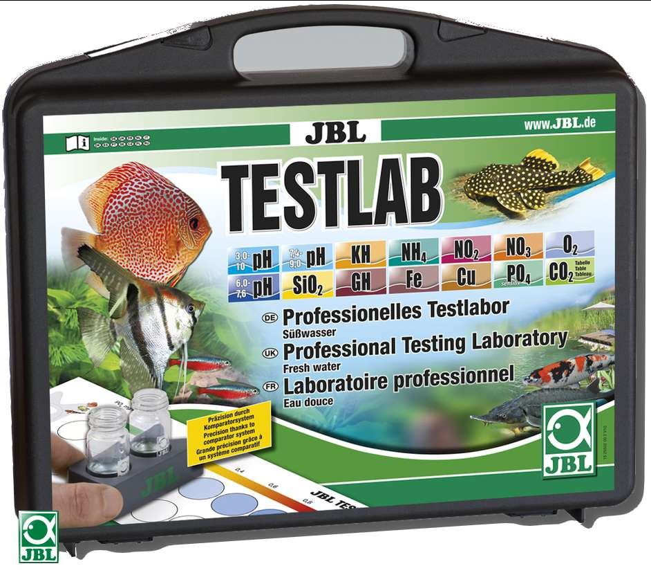 JBL Wassertest Testlab
