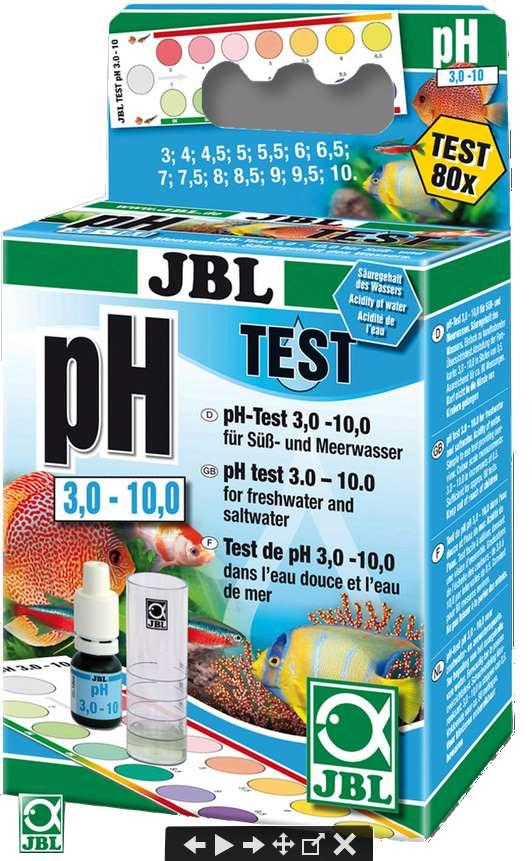 JBL pH 3-10 Wassertest
