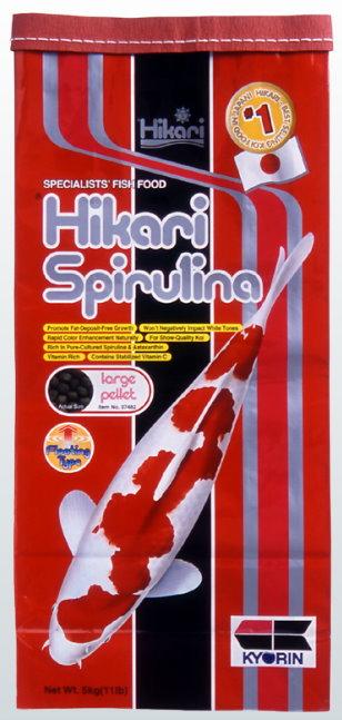 Hikari Spirulina large Pellets 5kg