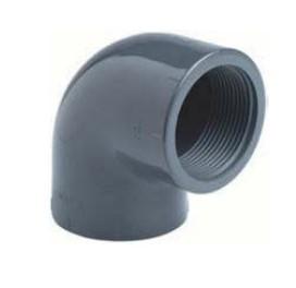 Winkel 90° 75 mm mit IG  2 1/2'' PVC