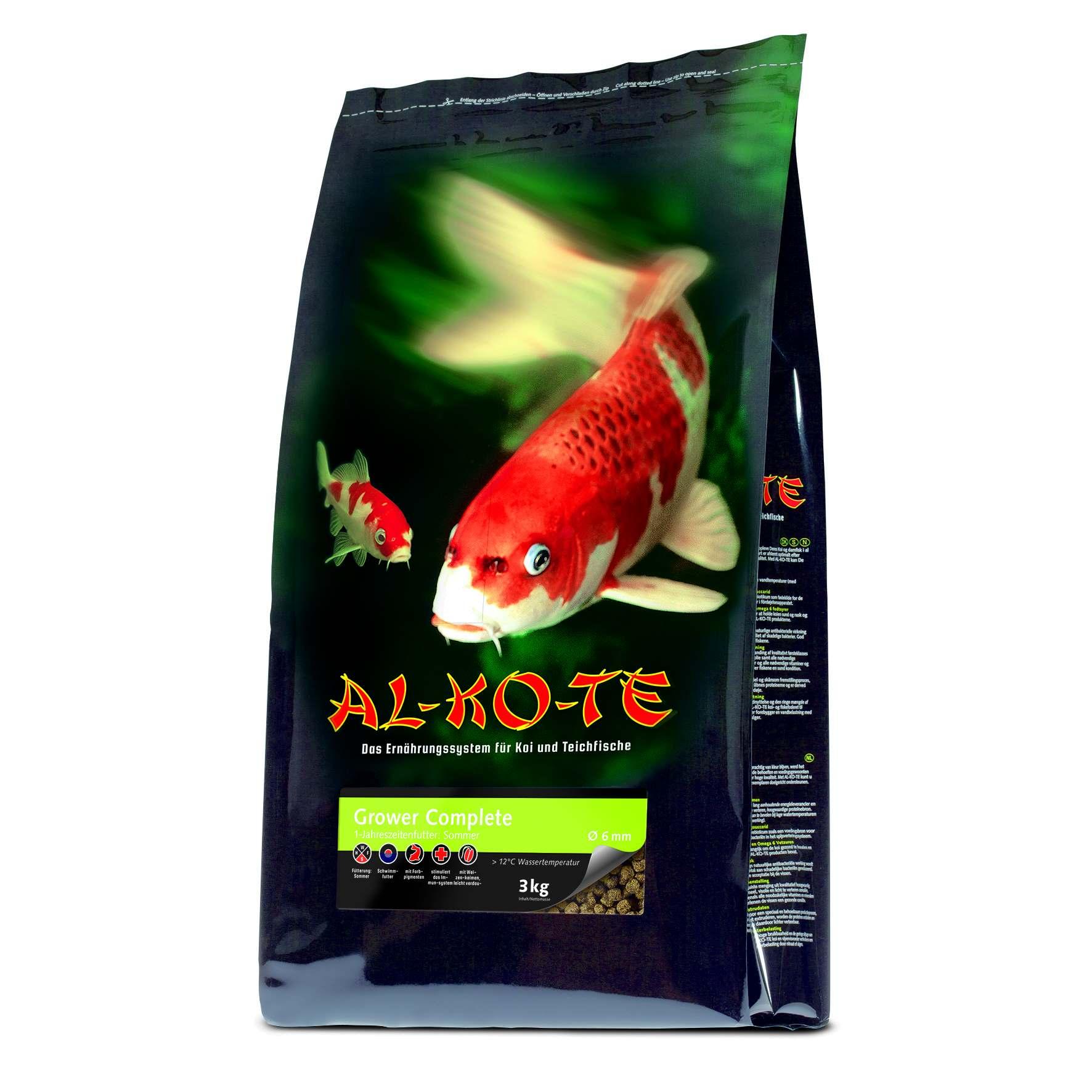 AL-KO-TE Grower Complete 3mm Pellets 3 kg