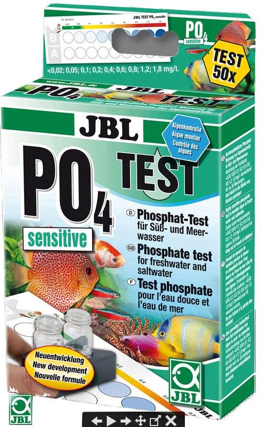 JBL PO4 Phosphat Wassertest