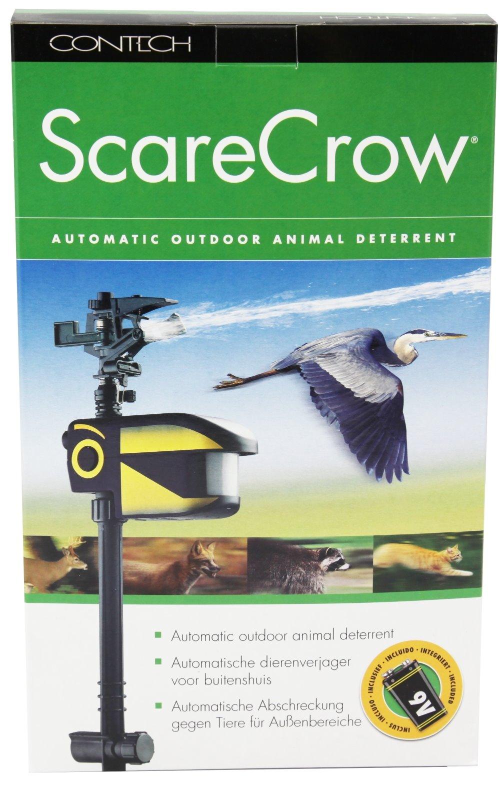 scarecrow fischreiherschreck mit bewegungsmelder und wasser top preis ebay. Black Bedroom Furniture Sets. Home Design Ideas